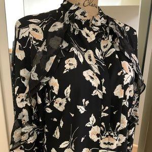 Ralph Lauren floral Button down blouse